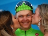 SOUTH LAKE TAHOE, CA - MAY 19: Toms Skujins of Latvia, riding for team Cannondale Pro Cycling celebrates after winning stage five of the Amgen Tour of California from Lodi to South Lake Tahoe on May 19, 2016 in South Lake Tahoe, California. (Photo by Chris Graythen/Getty Images) *** Local Caption *** Toms Skujins