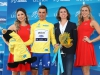 SOUTH LAKE TAHOE, CA - MAY 19: Julian Alaphilippe of France, riding for Etixx-Quick Step poses for a photo in the yellow Race Leader's jersey following stage five of the Amgen Tour of California on May 19, 2016 in South Lake Tahoe, California. (Photo by Chris Graythen/Getty Images) *** Local Caption *** Julian Alaphilippe