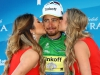 SOUTH LAKE TAHOE, CA - MAY 19: Peter Sagan of Slovakia in the Green Points jersey, poses for a photo following stage five of the Amgen Tour of California on May 19, 2016 in South Lake Tahoe, California. (Photo by Chris Graythen/Getty Images) *** Local Caption *** Peter Sagan