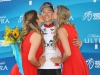 SOUTH LAKE TAHOE, CA - MAY 19: Neilson Powless of the United States riding for Axeon Hagens Berman in the Best Young rider jersey poses for a photo following stage five of the Amgen Tour of California on May 19, 2016 in South Lake Tahoe, California. (Photo by Chris Graythen/Getty Images) *** Local Caption *** Neilson Powless